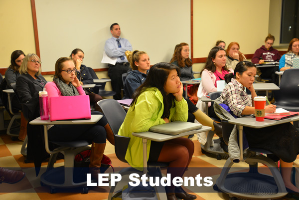 LEP Classroom of students