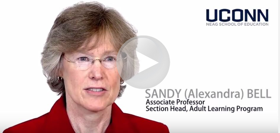 Sandy Bell on the School of Education video